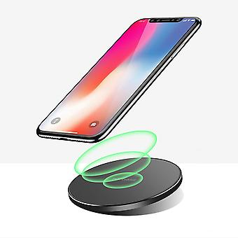 Bakeey 10w qi trådløs lader hurtiglading pad for samsung for iphone xiaomi huawei