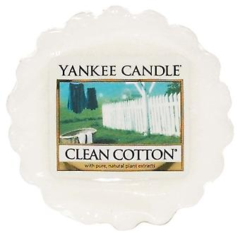 Yankee Candle Wax Tart Melt Clean Cotton