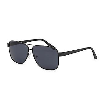 Gissa män' s metallram solglasögon svart gg2137