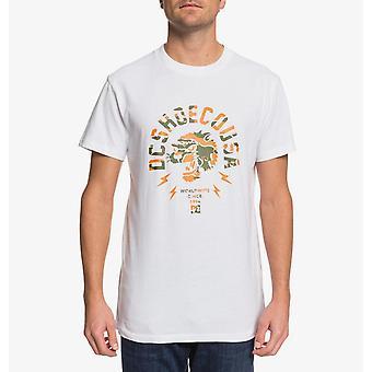 DC Shoes' Men's T-Shirt ~ Worldwide USA white