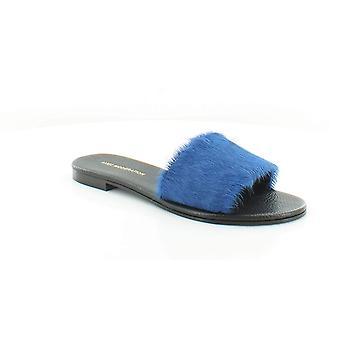 AVEC MODEROVANIE Dámske Bora Bora kožené pony vlasy slide sandále