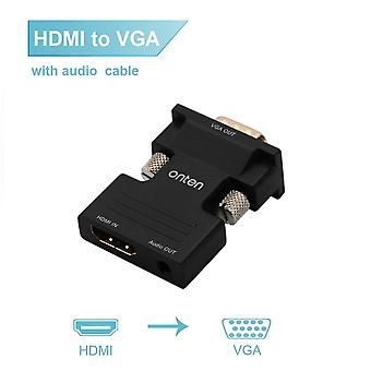 Adapter HDMI do VGA z wyjściem audio