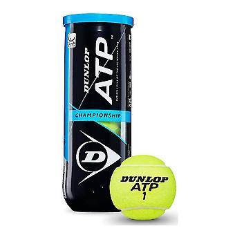 Dunlop ATP Championship Tennis Balls Tube de 4