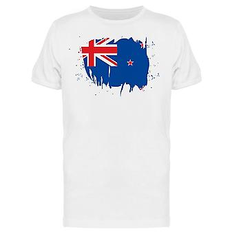 نيوزيلندا فرشاة السكتة الدماغية تي الرجال & apos;s -الصورة من قبل Shutterstock
