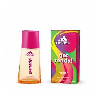 Adidas - Připravte se! Pro ni - Toaletní voda Eau De - 30ML