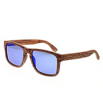 Earth Wood Whitehaven Polarized Sunglasses - Red-Rosewood/Purple