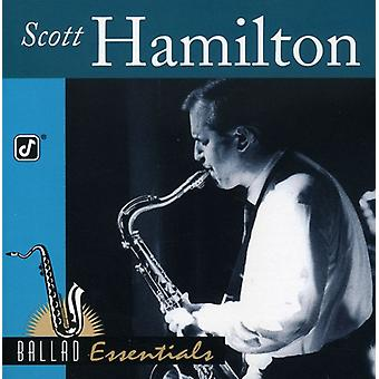 Scott Hamilton - Ballad Essentials [CD] USA import