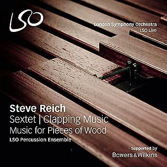 Reich, Steve / Lso Percussion Ensemble / Percy, Neil - Steve Reich: Sextet - Clapping Music - Music for [SACD] USA import