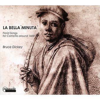 Bruce Dickey - Bella Minuta [CD] USA import