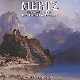 Mertz: Guitar & Piano Duos [CD] USA import