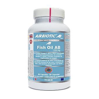 Huile de poisson AB 1200 mg 60 capsules