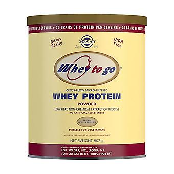 Whey To Go Protein None
