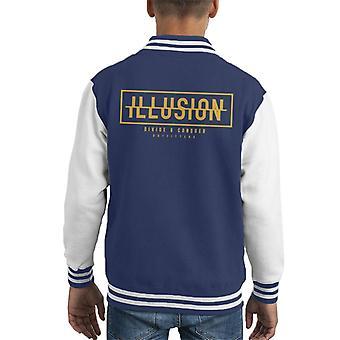Jaa & valloittaa Illusion Kid ' s Varsity takki