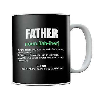 Father Dictionary Humorous Definition Mug