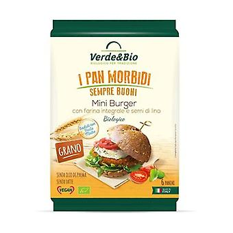 Organic Whole Wheat Miniburger With Linseed 240 g