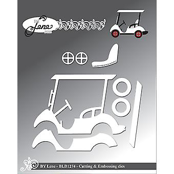 By Lene Golf Cart Cutting & Embossing Dies