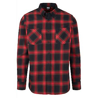 Urban Classics Checked Flannel Shirt 6