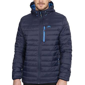 Trespass Herren Digby Outdoor Walking Packaway Kapuzen Mantel Jacke - Marine/Blau