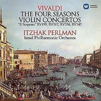Vivaldi / Perlman, Itzhak / Israel Philharmonic Orc - Violin Concertos [CD] USA import