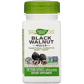 Nature's Way, Black Walnut Hulls, 1,000 mg, 100 Vegan Capsules