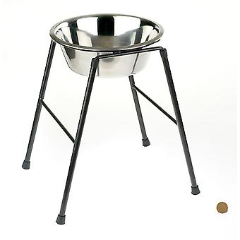 Caldex Classic High Single Feed Stand with 9.75 inch Bowl