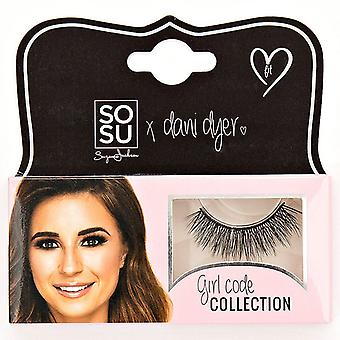 SOSU x Dani Dyer Girl Code Premium Valse Wimpers - Fit - 3D Delicate Finish