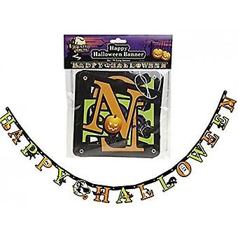 7Ft Happy Halloween Banner Party Decoration
