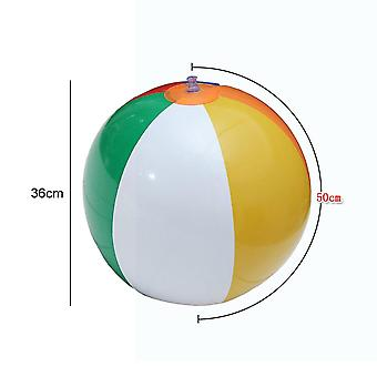 Outdoor Activity Beach Toy Play Ball Inflatable Water Balloons Rainbow-color Balls Summer Swimming Pool Toys For Adults /kids
