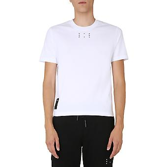 Mcq Door Alexander Mcqueen 624760rpr219000 Men's White Cotton T-shirt