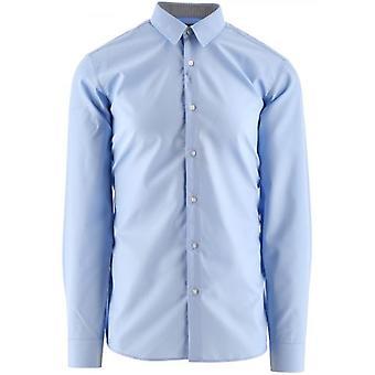 HUGO Pastel Blauw Vidal Shirt