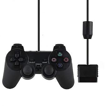 Ενσύρματο joystick gamepad για ελεγκτή Sony Ps2 - δόνηση σοκ Joypad ελέγχου