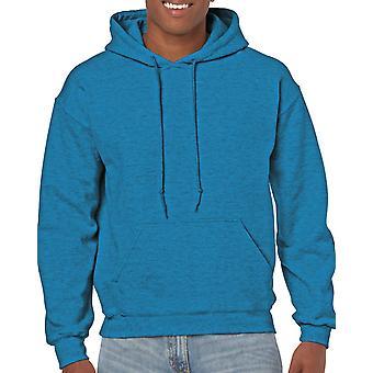 GILDAN G18500 Heavy Hooded Sweatshirt in Antique Sapphire