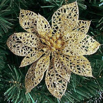 6''(10cm) Glitter Hollow Artificial Flower For Birthday Party, New Year,