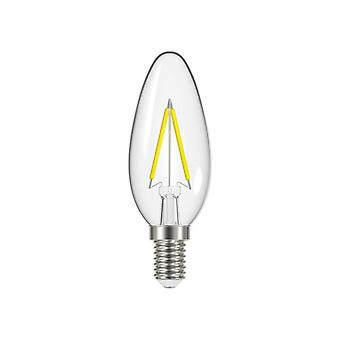Energizer® LED SES (E14) Candle Filament Dimmable Bulb, Warm White 450 lm 4.5W