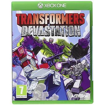 Transformers Förödelse Xbox One Game