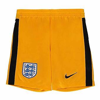 2020-2021 Angleterre Nike Goalkeeper Shorts (Jaune) - Enfants