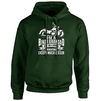 I'm a Biker Grandad Except Much Cooler Unisex Hoodie 10 Colours (S-5XL) by swagwear