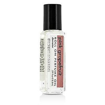 Vaaleanpunainen greippirulla hajuvesiöljyllä 8,8 ml tai 0,29oz