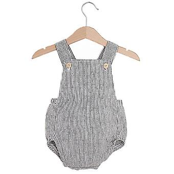 Baby Romper Spring Fall, Linen Cotton Outfit, Unisex