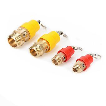 """Air Compressor Safety Relief Valve-(with A 1/8"""" 1/4"""" 3/8"""" 1/2"""" Bsp Thread)"""