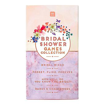 Hen Party morsiamen suihku pelit kokoelma Bridal Bingo dares haasteet