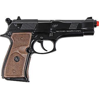 CAP GUN - 39/6 - Gonher Police Pistol 8 Shots