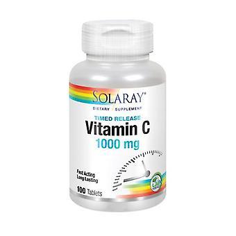 Solaray فيتامين C، 1000 ملغ، 100 علامات التبويب