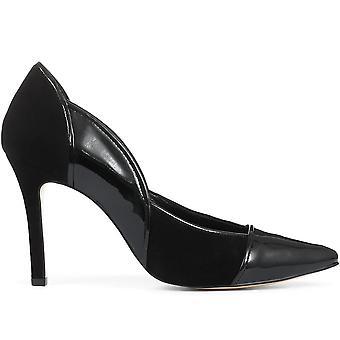 Jones Bootmaker Womens högklackade läder domstol sko