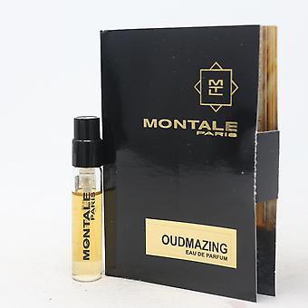 Oudmazing by Montale Paris Eau De Parfum Vial 0.07oz/2ml Spray New