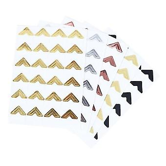120 Pcs Kraft Paper Stickers pour albums photos