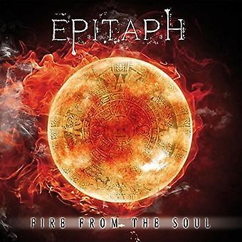 Epitaph - Fire From the Soul [CD] USA import