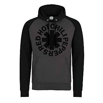 Red Hot Chili Peppers Hoodie Black Asterisk new Official Mens Black Pullover