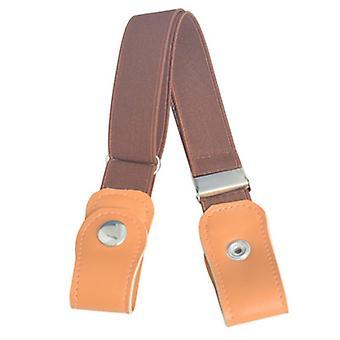 Schnalle-freier Gürtel für Jean, Hose, Kleider, Stretch elastische Taille, Männer, Nein