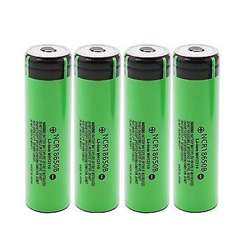 3.7v 18650 lithium oplaadbare batterijen en 3400mah-oplader